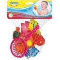 BebeLino Набор игрушек для ванной Морские жители с сачком