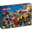LEGO City Mining Конструктор Тяжелый бур для горных работ 60186