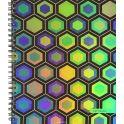 Канц-Эксмо Тетрадь Яркий орнамент 96 листов в клетку цвет фиолетовый зеленый