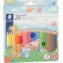Staedtler Набор цветных карандашей Noris Club 24 цвета
