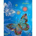 Апплика Дневник школьный для старших классов Паттерн Бабочки С3624-05