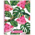 Pierre Cardin Тетрадь Tropic Watermelon 80 листов в клетку цвет зеленый розовый белый формат A5