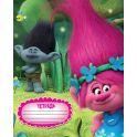 Trolls Тетрадь Trolls 18 листов в линейку цвет зеленый голубой розовый формат A5