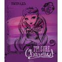 Mattel Тетрадь Ever After High 48 листов в клетку цвет фиолетовый формат A5 950621
