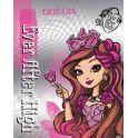 Mattel Тетрадь Ever After High 48 листов в клетку цвет фиолетовый формат A5 950634