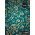 Pierre Cardin Тетрадь East 120 листов в клетку цвет темно-зеленый формат A5