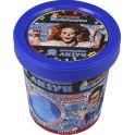Qiddycome Набор для опытов и экспериментов Светящийся лизун цвет призрачно-голубой