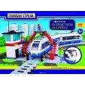 Голубая стрела Железная дорога-конструктор Скоростной экспресс