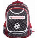 Brauberg Ранец школьный Мяч цвет красный черный
