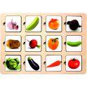 Smile Decor Обучающая игра Секретики Овощи