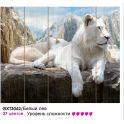 """Набор для раскрашивания по номерам Molly """"Белый лев"""", 50 х 40 см"""