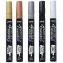 Pebeo Набор маркеров художественных 4Artist Marker 5 цветов 580892