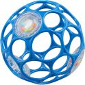 Oball Развивающая игрушка Мячик гремящий цвет синий