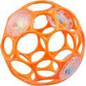 Oball Развивающая игрушка Мячик гремящий цвет оранжевый