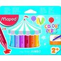 Maped Color Peps Восковые мелки 12 шт