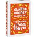 """Карты игральные """"Glamor Nugget"""", цвет: оранжевый"""