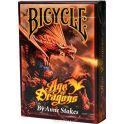 """Карты игральные """"Bicycle Anne Stokes. Драконы"""""""