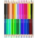 Maped Color Peps Набор цветных карандашей Duo двухсторонние 18 шт