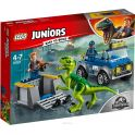 LEGO Juniors Конструктор Грузовик спасателей для перевозки раптора