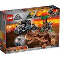 LEGO Jurassic World Конструктор Побег в гиросфере от карнотавра