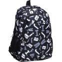 Рюкзак детский Буквы цвет черный 1675393