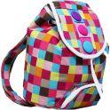 Рюкзак детский Клетка цвет разноцветный 1865961
