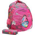 Рюкзак детский Бабочка цвет розовый 2820269