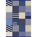BG Тетрадь Модная Джинса 96 листов в клетку цвет синий 17839