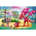 Playmobil Игровой набор Феи Дружелюбный дракон с ребенком