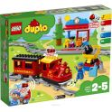 LEGO DUPLO Town Конструктор Поезд на паровой тяге 10874