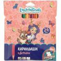 Mattel Карандаши цветные Enchantimals 24 цвета