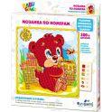 Origami Для Малышей Мозаика по номерам Медвежонок и Пчелка