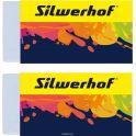 Silwerhof Набор ластиков dust-free 2 шт 181122