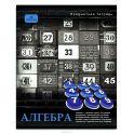 Проф-Пресс Тетрадь Контрасты Алгебра 48 листов в клетку