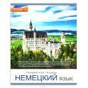 Проф-Пресс Тетрадь Мир вокруг Немецкий язык 48 листов в клетку