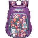 Grizzly Рюкзак школьный цвет фиолетовый RG-866-1/1