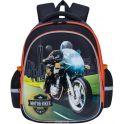 Grizzly Рюкзак школьный цвет черный RA-878-2/1