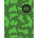 Феникс+ Дневник школьный Камуфляж цвет зеленый