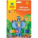Мульти-Пульти Набор цветных карандашей Енот в Индии 36 цветов