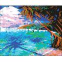 "Картина по номерам Школа талантов ""Пляж"", 2711904, 40 х 50 см"