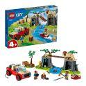 LEGO City 60301 Конструктор ЛЕГО Город Wildlife:Спасательный внедорожник для зверей