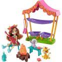 """Mattel Enchantimals GTM33 Игровой набор """"Кемпинг в саванне"""""""