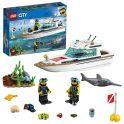 LEGO City 60221 Конструктор ЛЕГО Город Транспорт: Яхта для дайвинга