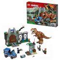 LEGO Juniors 10758 Конструктор ЛЕГО Джуниорс Jurassic World Побег Ти-Рекса