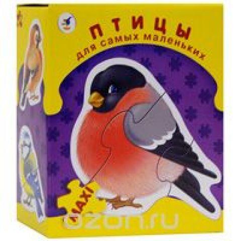 Птицы. Пазл, 26 элементов