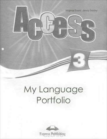 Access 3: My Language Portfolio