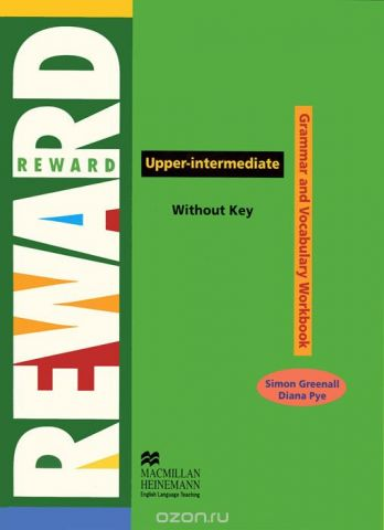 Reward Upper-Intermediate: Grammar and Vocabulary Workbook Without Key