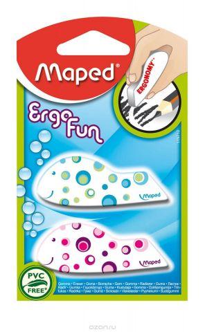 """Набор ластиков Maped """"Ergo fun fancy"""", 2 шт"""