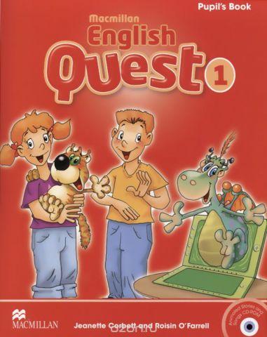Macmillan English Quest: Student's Book: Level 1 (+ CD-ROM)