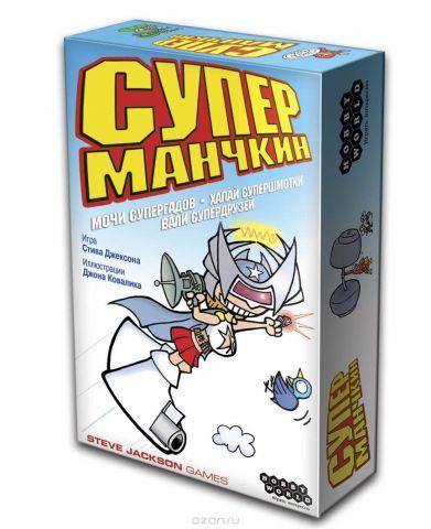 Hobby World Настольная игра Супер Манчкин (3-е издание)